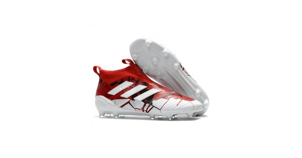 Purecontrol FG Soccer Cleats Red White