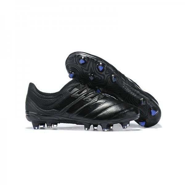 Men's Adidas Copa 19.1 FG Soccer Shoes In Core Black