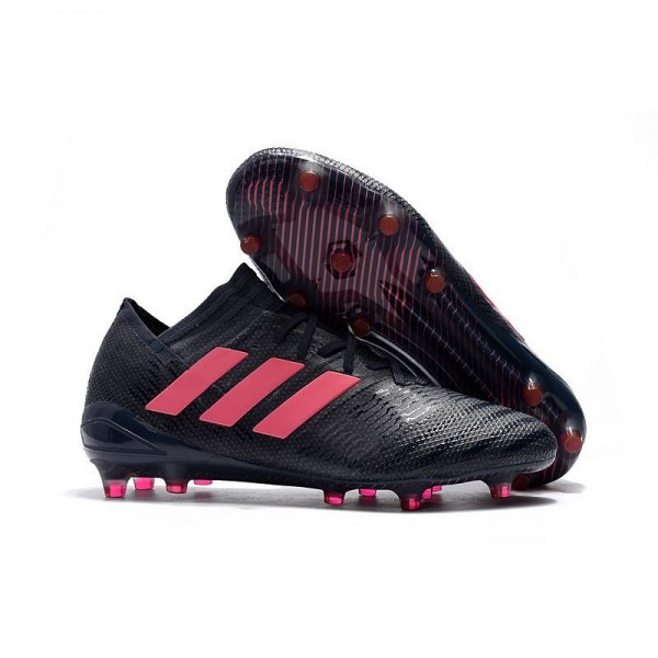Men's Adidas Nemeziz Messi 17.1 FG Soccer Boots Black Pink