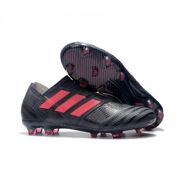 Men's Adidas Nemeziz Messi 17+ 360 Agility FG Soccer Boots Black Pink