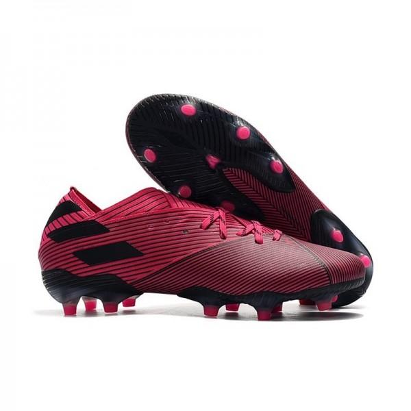 Men's Adidas Nemeziz 19.1 FG News Soccer Boots Shock Pink Black