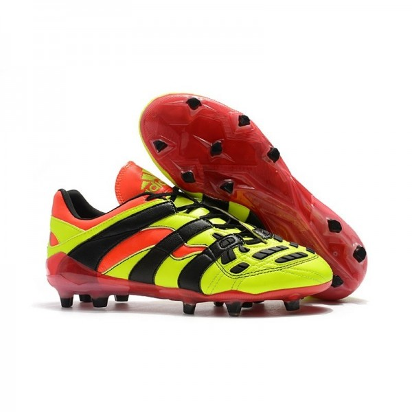 Men's Adidas Predator Accelerator New FG Cleat Electricity Red Black