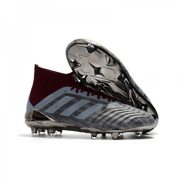 Paul Pogba Men's Adidas PP Predator 18.1 FG World Cup Iron Metallic