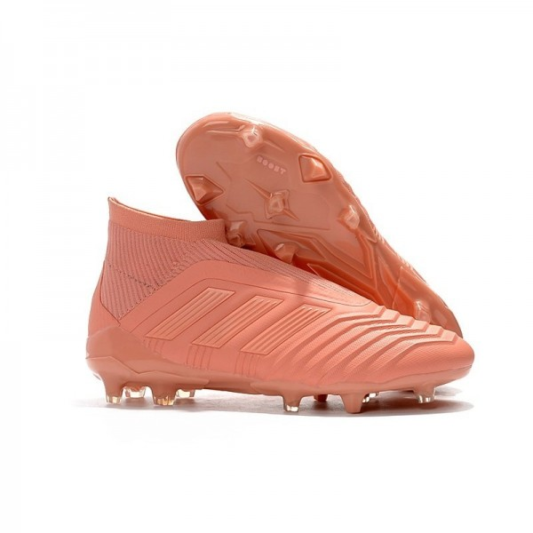 Men's Adidas New World Cup Predator 18+ FG Firm Ground Boots Pink