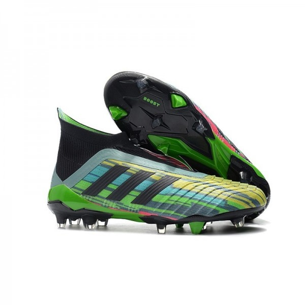 Men's Adidas Predator 18+ FG Firm Ground Boots Colorful