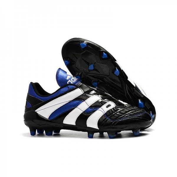 Men's Adidas Predator Accelerator Electricity FG Boots Black White Blue