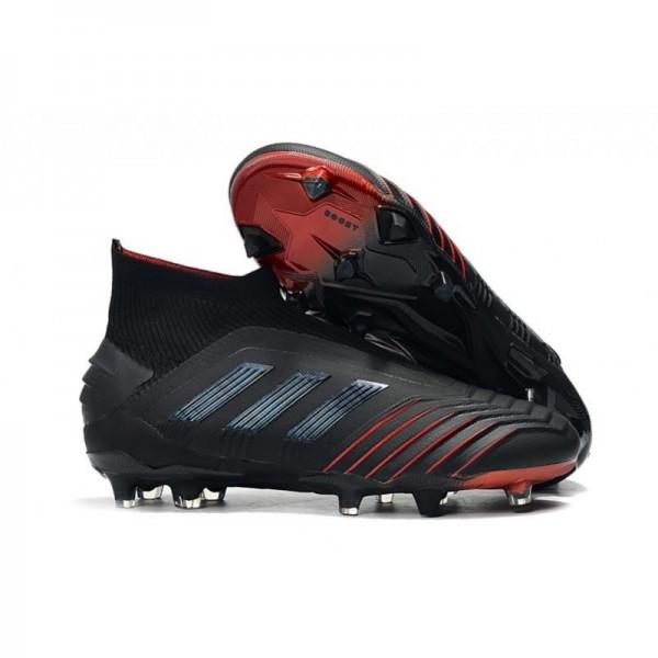 Men's Adidas Archetic Predator 19+ FG Soccer Boots Black Red