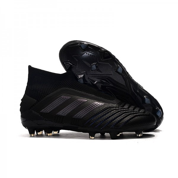 Men's Adidas Predator 19+ FG Soccer Boots Full Black