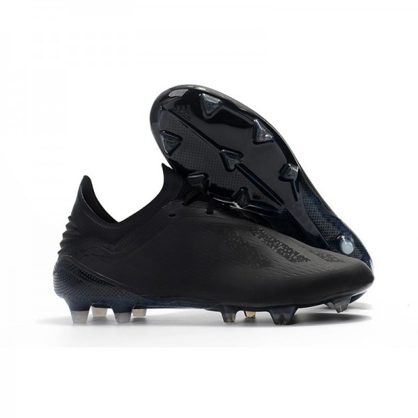 Men's Adidas X 18.1 FG Firm Ground Soccer Cleats All Black