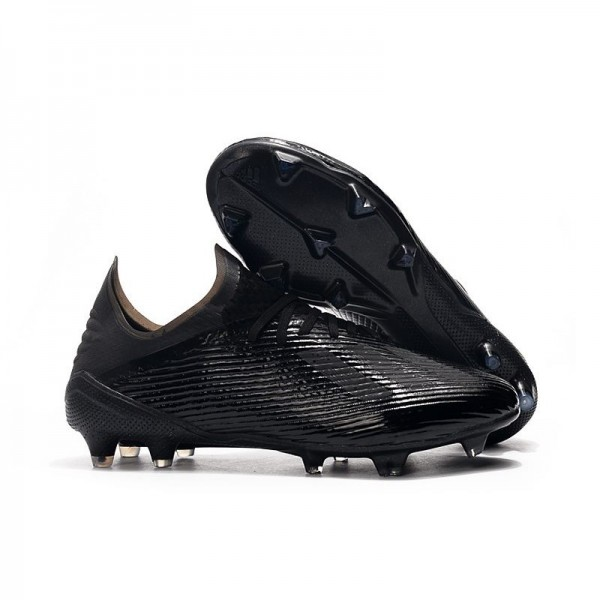 Men's Adidas X 19.1 FG Firm Ground Soccer Cleats All Black