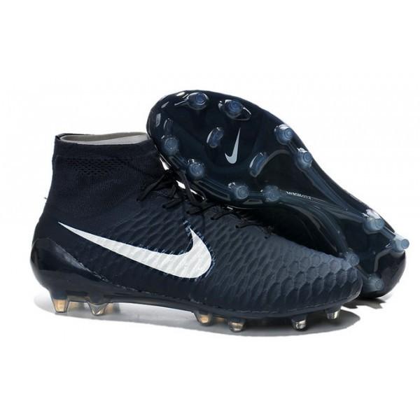 Men's Nike Magista Obra FG Soccer Boots Cyan White