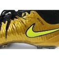 Men's Nike Magista Obra FG Soccer Boots Gold Black Volt