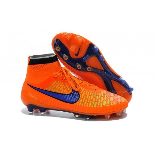 Men's Nike Magista Obra FG Soccer Boots Orange Violet