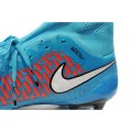 Men's Nike Magista Obra FG Soccer Cleats Low Price Blue Green Red Black White