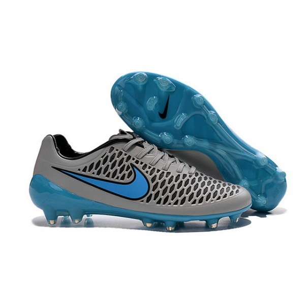 2016 Men's Nike Magista Opus FG Soccer Cleats Wolf Grey Turquoise Blue Black