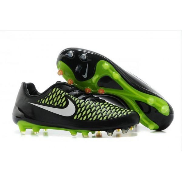 Men's Nike Magista Opus FG Football Shoes Black Green White
