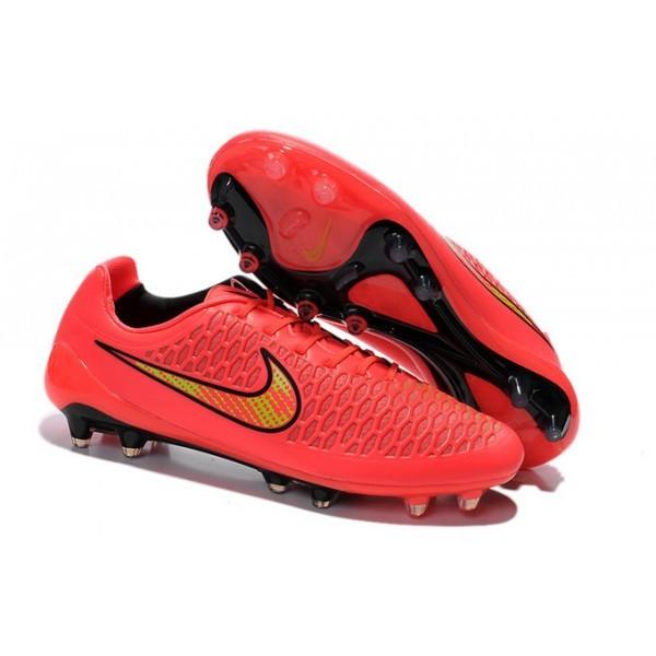 Men's Nike Magista Opus FG Football Shoes Pink Black