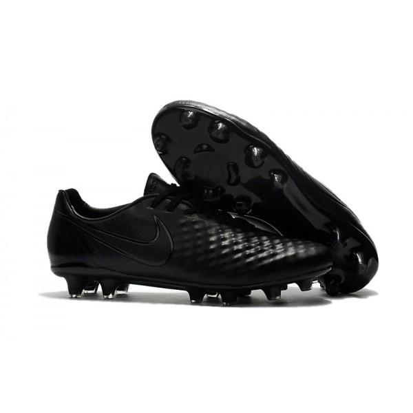 Men's Nike Magista Opus II FG Football Shoes All Black