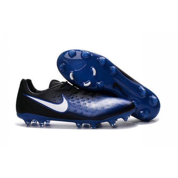Men's Nike Magista Opus II FG Football Shoes Blue Black White