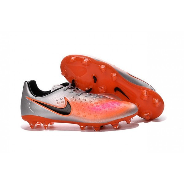 Men's Nike Magista Opus II FG Football Shoes Silver Orange Black