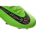 Men's Nike Soccer Cleats Shoes Mercurial Superfly V FG Green Black