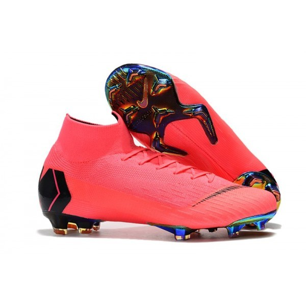 Men's Nike Mercurial Superfly 6 Elite FG News Pink Black