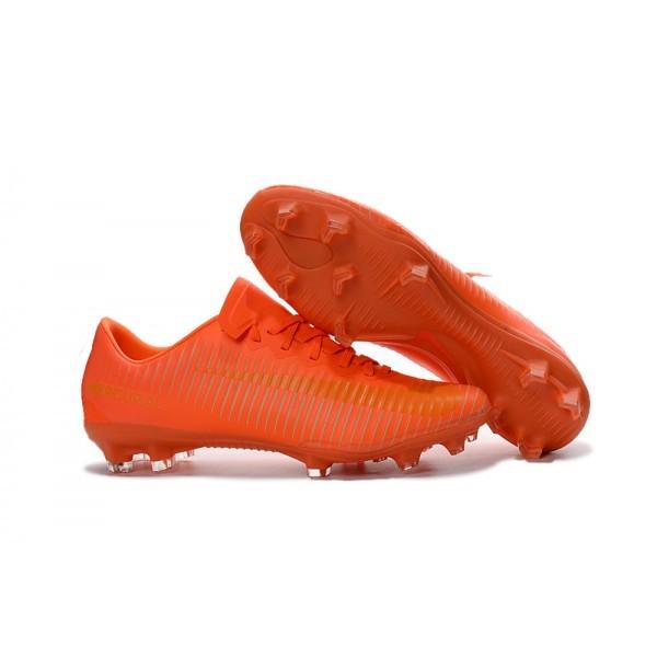 2016 Men's Nike Mercurial Vapor XI FG Orange