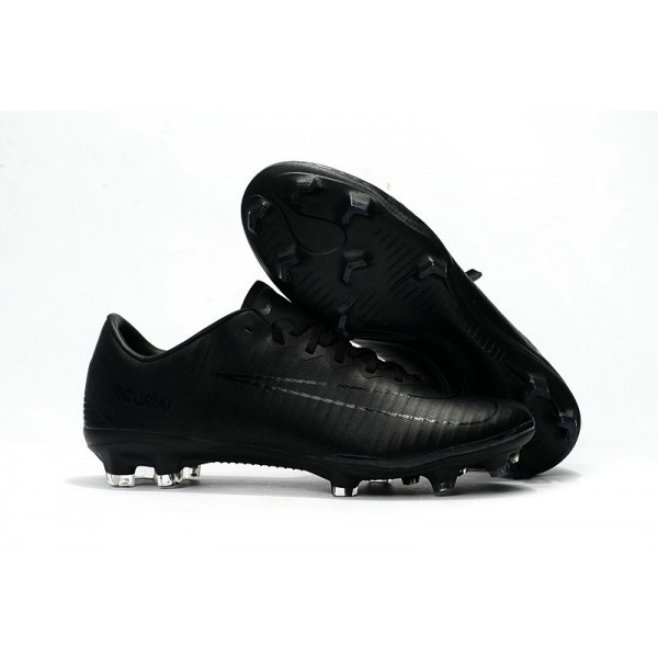 2017 Men's Nike Mercurial Vapor XI FG All Black