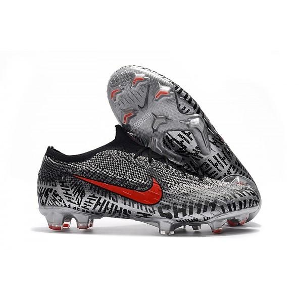 Men's Nike Football Boots Mercurial Vapor XII 360 Elite FG Neymar Black White Red