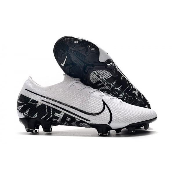Men's Nike Mercurial Vapor XIII Elite FG Firm Ground Boot White Black