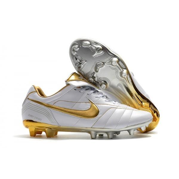 Men's Nike Tiempo Legend 7 10R Elite FG White Gold